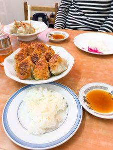 中央亭の餃子